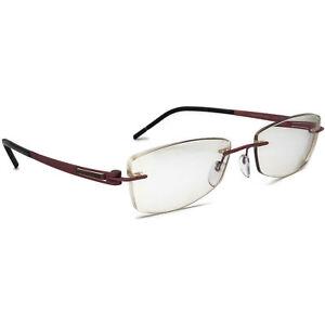 Silhouette Eyeglasses 5369 40 6066 Titan Pink Rimless Frame Austria 53[]17 140