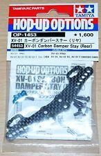Tamiya 54453 XV-01 Carbon Damper Stay (Rear) (XV01/XV-01 Pro/XV-01T), NIP