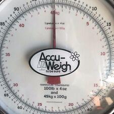 Accu-Weigh 100 lb x 4 oz Portable Table Top Scale