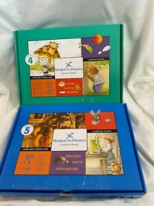 Hooked on Phonics Learn to Read Level 4 & 5 Homeschooling Audio Cassette Version