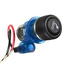 12v Illuminated Car Cigarette Cigar Lighter Socket Replacement Light Up BLUE NEW