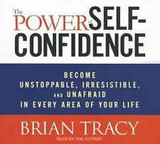 NEW 5 CD Brian Tracy Power of Self-Confidence Become Unstoppable, Irresistible..