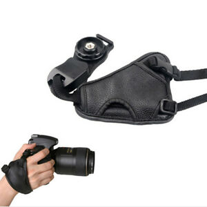 Quick Release Faux Leather Camera Wrist Strap for Pentax K-5 II