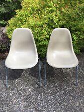 Vintage Eames DSS Stacking Fiberglass Side Chair for Herman Miller