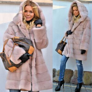 Womens Winter Teddy Bear Faux Fur Fluffy Coat Jackets Jumper Cardigans Outwear