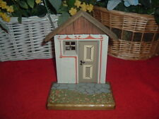 Anri Swiss Chalet Cottage Wood Carved Display, New, Mint