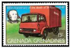Timbre Véhicules Camions Grenade Grenadines 293 ** lot 24582