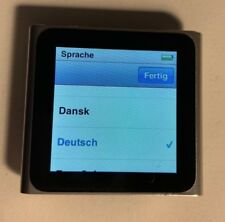 Apple iPod Nano 6G / 6. Generation Silber (16GB) sehr guter Zustand, in OVP