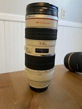 New listing Canon Ef 70-200mm f/2.8 Usm L Lens Usm read description