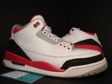 2013 Nike Air Jordan III 3 Retro WHITE FIRE RED BLACK CEMENT GREY 136064-120 12