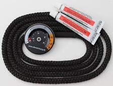 Ofendichtung 12mm Dichtschnurkleber magnetisches Thermometer Rauchrohr Ofenrohre