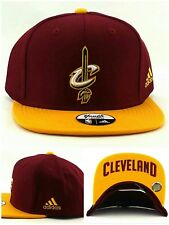626e58f32b9 Cleveland Cavaliers New Adidas Youth Kids Red Wine Gold Era Snapback Hat Cap