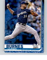 2019 TOPPS MINI On Demand CORBIN BURNES Blue Parallel 07/10 Brewers Rookie RC 94
