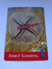 Fool's Landing Replacement Flood Card For Gamewright Forbidden Island Game