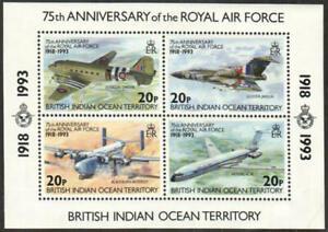 British Indian Ocean Territory Stamp - Royal Air Force, 75th anniversary - NH