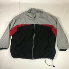 D.A.C. Performance High Quality Full Zip Windbreaker Jacket For Men Size 4X