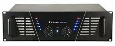 "Ibiza Amp800 Max. 2 x 400 W 8 Ohm Amp 800 Installation en Rack 19"""