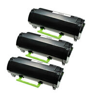 3PK Cartridge  51B1000 for Lexmark MS317 417 517 617 MX 317 417 517 617 2.5K