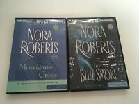 MP3-CD Norah Roberts Morrigans Cross And Blue Smoke unabridged