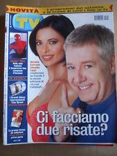 TV Sorrisi e Canzoni n°24 2002 Natalia Estrada Claudio Lippi Tina Turner  [D53]