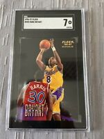 Kobe Bryant 1996-97 Fleer Rookie Card # 233 SGC 7 RC Legend 🐍 Lakers 🐐