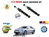 FOR CITROEN C5 RD BERLINA 2008-> NEW 2X REAR SHOCK ABSORBER SHOCKER SET