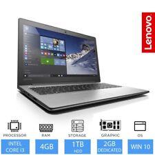 "Lenovo IdeaPad 310- 15.6"" Portátil Juegos Intel Core i3 8gb RAM 1tb HDD"