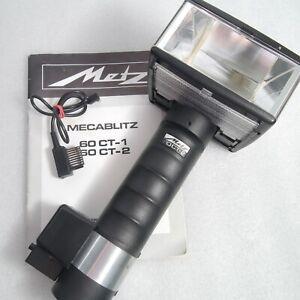Metz 60 CT2 CT 2 Electronic Handle Mount Flash 35mm SLR Medium Format Digital