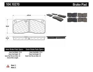 Brake Pad Set  Centric Parts  104.10270