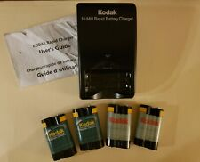 Kodak Ni-MH Rapid Battery Charger K4500 plus 4 battery packs