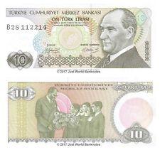 Turkey 10 Lira 1979 P-192 Banknotes UNC
