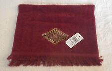 Avanti Fingertip Towel Brick Red Color New