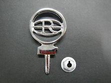 """1964 1965 Buick Riviera """"R"""" Hood Ornament Hood Spear Emblem Badge 64 65 GS w nut"""