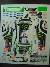 DECALS 1/43 FORD FIESTA RS WRC #43 K.BLOCK MEXICO 2012  - COLORADO  43228
