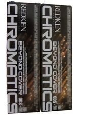 Redken Beyond Cover Chromatics 9Gb 2 tubes Age Defying Permanent Color