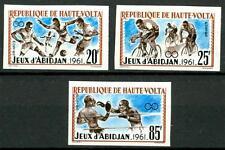 ALTO VOLTA (BURKINA FASO) - 1962 - Giochi sportivi africani ad Abidjan