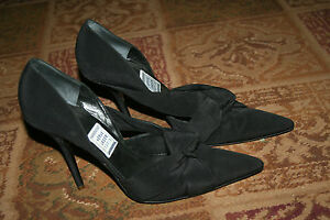 Herve Leger Black Heels Shoes 40.5