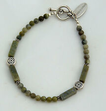 Connemara marble bracelet. Celtic Irish jewelry gift.  Sue Bowden Design