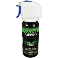 Mace Take Down OC Relief Decontamination Spray contains natural herbal extracts