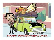 MR BEAN A4 Edible Cake Topper Icing Image Birthday Party Decoration #1