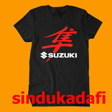 Hayabusa Suzuki Logo Black T-Shirt Size S M L XL 2XL 3XL