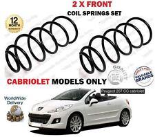 Para Peugeot 207 Cabriolet Aire Acondicionado 1.6 16v 2007- > Nuevo 2X Delante