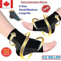 Ankle Brace Achy Heel Plantar Support Fasciitis Compression Socks Foot Sleeves