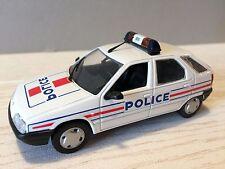 VOITURE MINIATURES DIVERS 1/43 NOREV CITROËN ZX POLICE MIN0001690