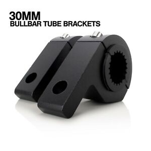 30mm Bull Bar Light Bracket Mount Heavy Duty Nudge Bar Clamp