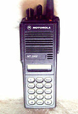Motorola MT2000 VHF 136-178 Mhz 160 Channel 5 Watt Portable Radio H01KDH9AA7AN