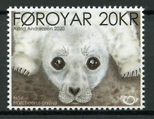 Faroe Islands Faroes Wild Animals Stamps 2020 MNH Seal Pup Norden Seals 1v Set