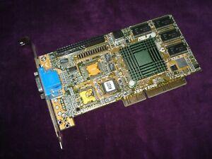 Rare Vintage ASUS AGP-V2740 intel 740 (i740) 8Mb AGP 2x SVGA Video Card