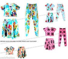 Abbigliamento floreale per bambine dai 2 ai 16 anni