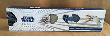 NIB Williams Sonoma Star Wars Cookie Cutters Set of 4 Death Star ships falcon